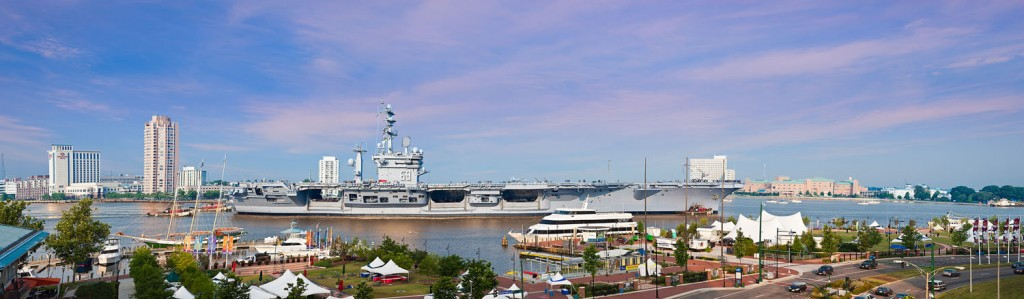 USS Dwight D Eisenhower in Norfolk